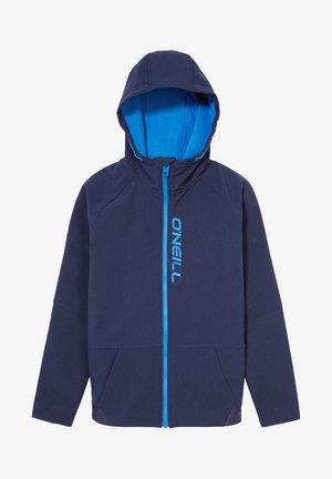 Soft shell jacket - blue