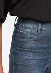 G-Star - KAFEY ULTRA HIGH SKINNY  - Jeans Skinny Fit - worn in gravel blue - 3