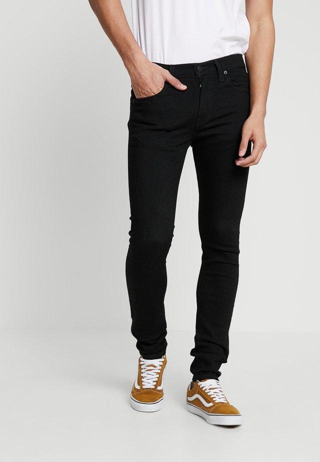 519™ EXTREME SKINNY FIT - Jeans Skinny Fit - black denim