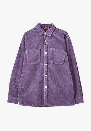 Chemise - mottled purple