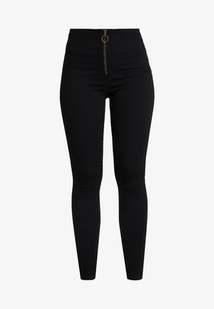 RING ZIP OUTLAW - Jegging - black