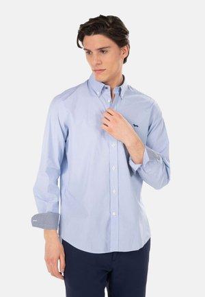 Shirt - celeste screziato