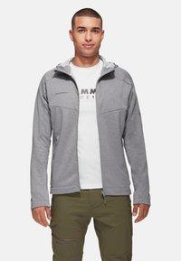 Mammut - NAIR  - Fleece jacket - granit melange - 0