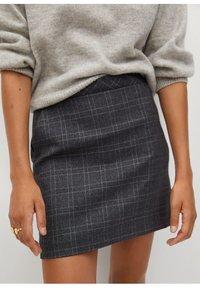 Mango - CHARLOTT - Mini skirt - šedá - 4