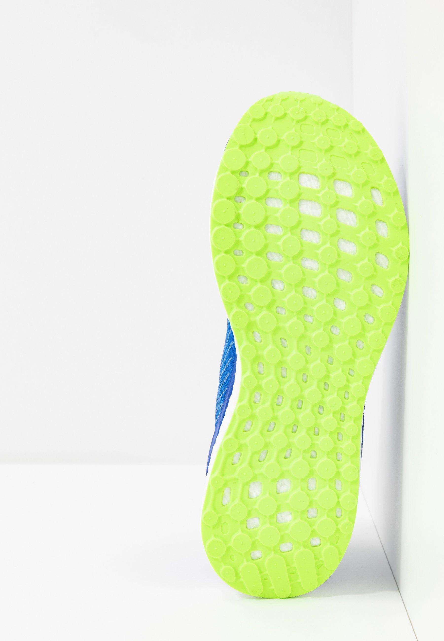 adidas Performance SOLAR DRIVE 19 - Laufschuh Neutral - glow blue/grey two/signal green/blau - Herrenschuhe MrIu3
