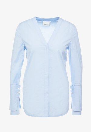 Blouse - oxford blue
