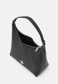DKNY - CAROL POUCHETTE - Handbag - black/silver-coloured - 6