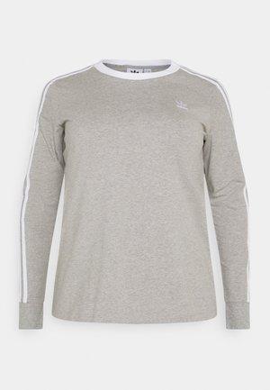 Pitkähihainen paita - grey heather/white
