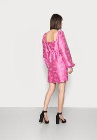 Samsøe Samsøe - SASHA DRESS - Sukienka koktajlowa - bubble gum pink - 2