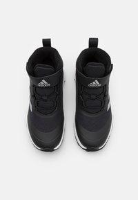 adidas Performance - FORTARUN ATR UNISEX - Obuwie hikingowe - core black/silver metallic/footwear white - 3