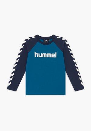 Langærmede T-shirts - blue sapphire