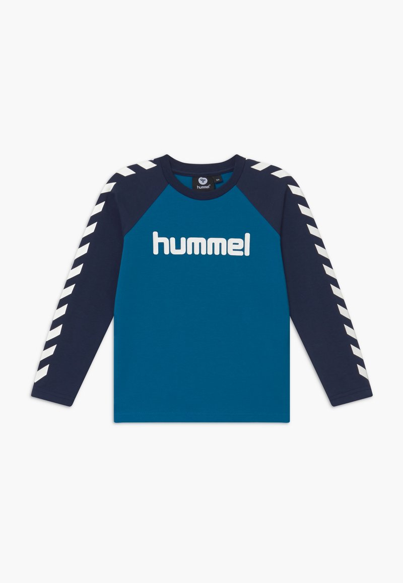 Hummel - Langærmede T-shirts - blue sapphire