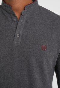 The Kooples - POLO - Poloshirts - asphaltgreymel/burgundy - 5