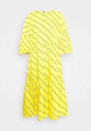 AMBER DRESS - Day dress - yellow