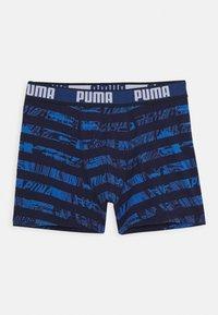 Puma - KIDS COLLAGE STRIPE BOXER 2 PACK - Pants - blue - 2