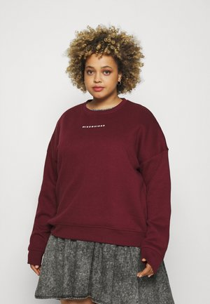 BASIC - Sweatshirt - wine