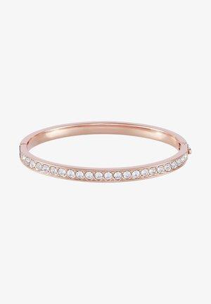 CLEMARA HINGE BANGLE - Bracelet - rose gold-coloured/crystal