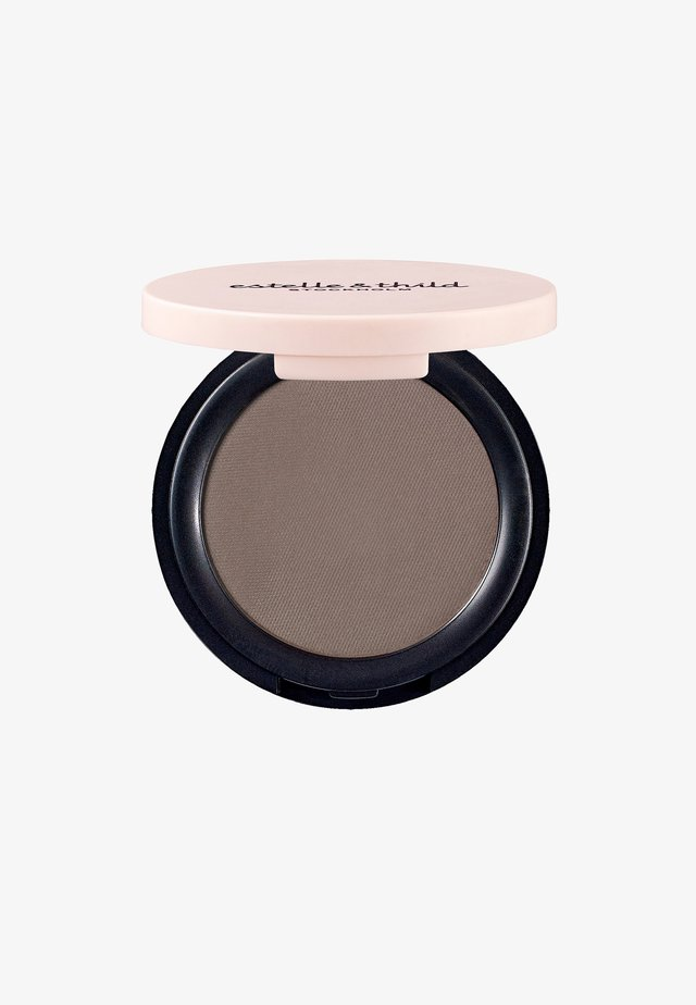 BIOMINERAL SILKY EYESHADOW 3G - Cień do powiek - cold brown