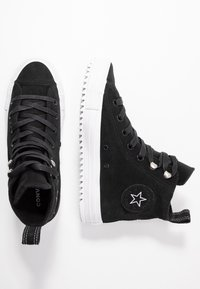 Converse - CHUCK TAYLOR ALL STAR HIKER FINAL FRONTIER - Høye joggesko - black/white - 3