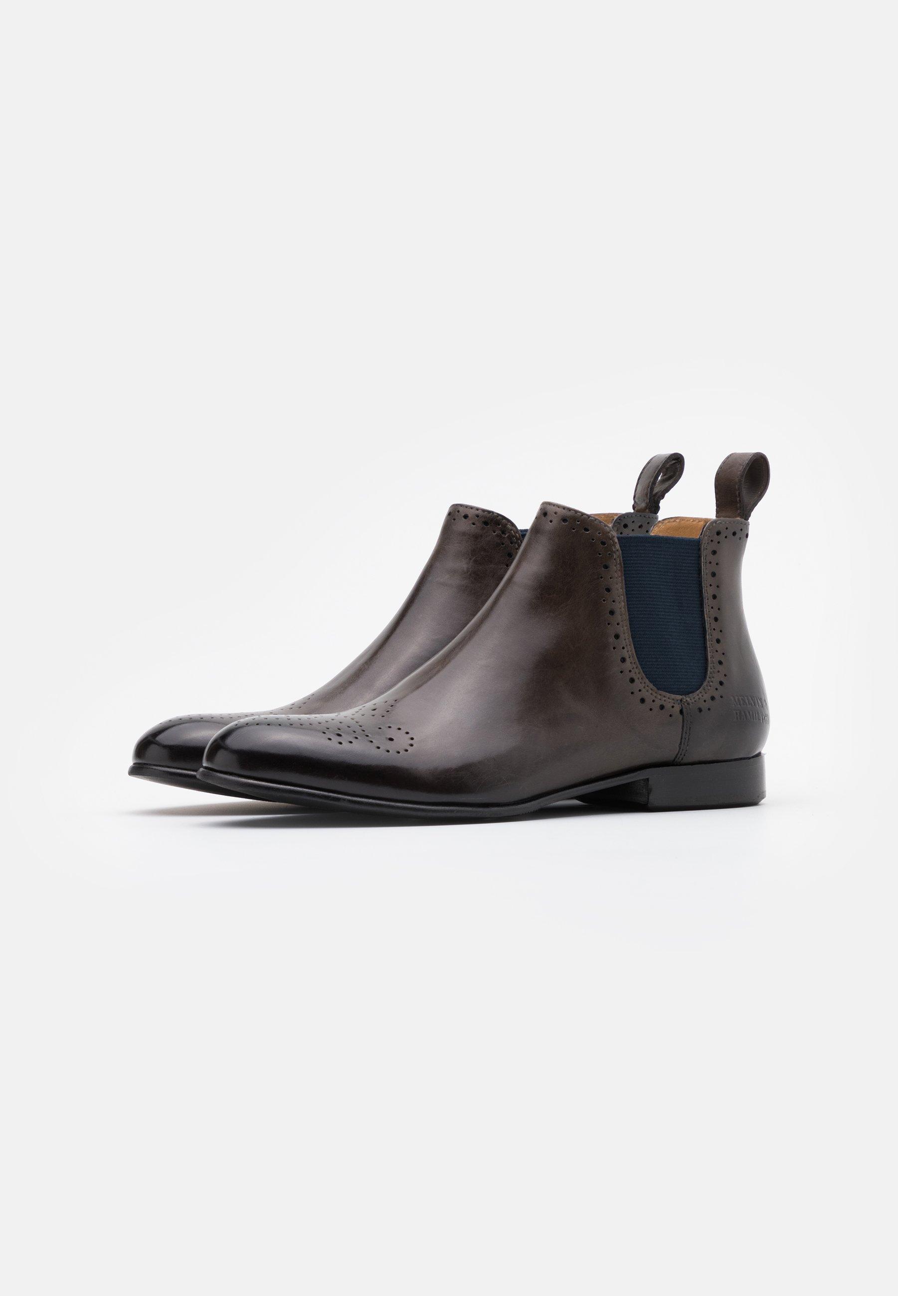 Melvin & Hamilton SALLY  Ankle Boot deep steel/blaugrau