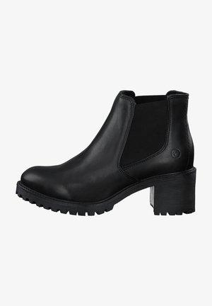 Classic ankle boots - black lea. uni