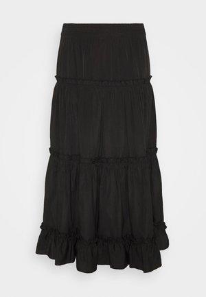 SAO PAULO FASHION SKIRT - Áčková sukně - black