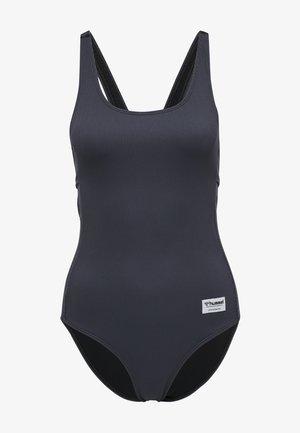 HMLNACTAR - Swimsuit - dark grey