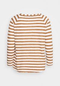 Rich & Royal - HEAVY LONGSLEEVE STRIPED - Long sleeved top - toffee - 1