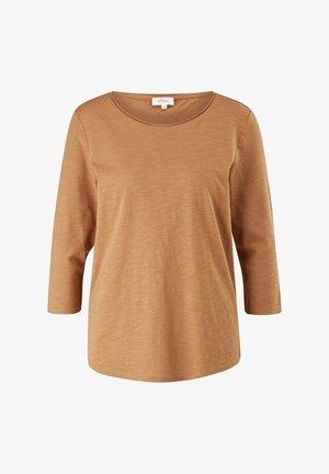 LOCKERES 3/4-ARM - Long sleeved top - caramel