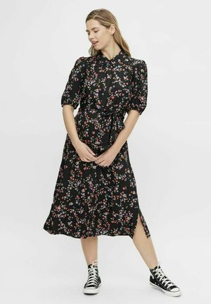 PCMLALA - Shirt dress - black