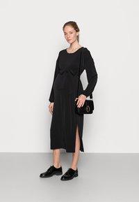 Lindex - DRESS MOM LISA - Trikoomekko - black - 1