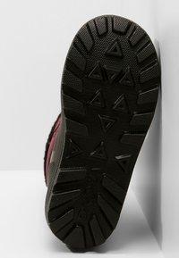 Viking - ISTIND - Zimní obuv - dark pink/black - 5
