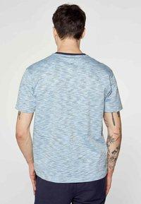 MDB IMPECCABLE - Print T-shirt - blue - 1