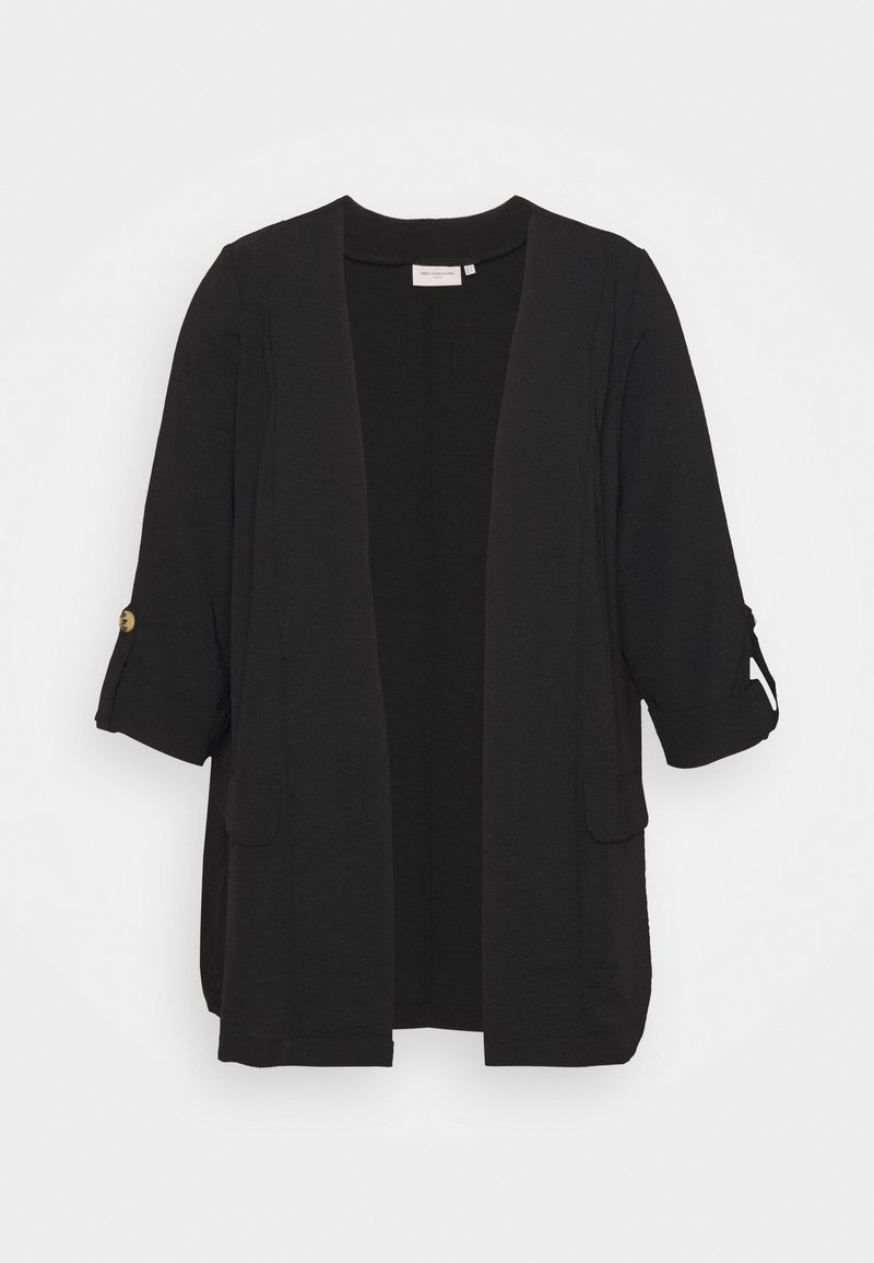 ONLY Carmakoma - CARJACKIE COATIGAN - Summer jacket - black