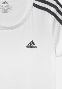 adidas Performance - UNISEX - T-shirt print - white/legend ink - 2