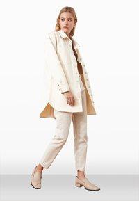 Trendyol - Summer jacket - cream - 1