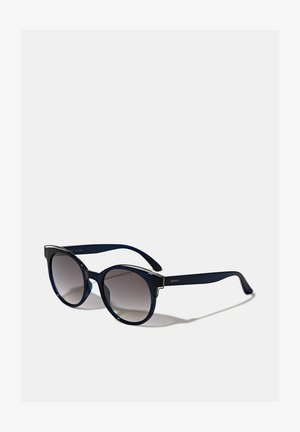 SONNENBRILLE MIT METALL-AKZENTEN - Sunglasses - blue
