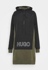 HUGO - DALARISA - Mikina - black/khaki - 0