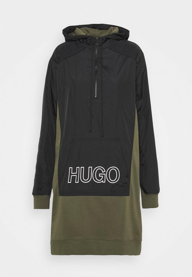 HUGO - DALARISA - Mikina - black/khaki