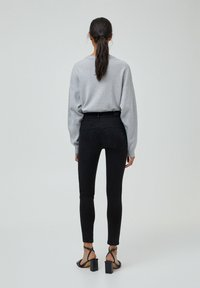 PULL&BEAR - PUSH UP - Jeans Skinny Fit - black - 2