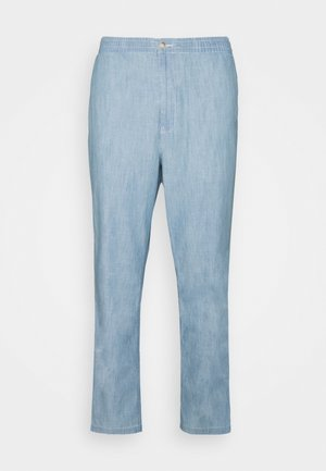 RELAXED FIT POLO PREPSTER CHAMBRAY PANT - Tygbyxor - chambray
