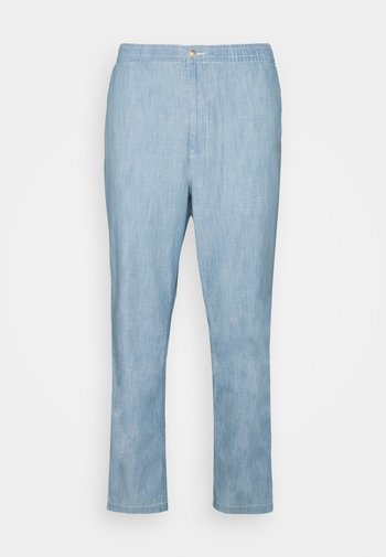 RELAXED FIT POLO PREPSTER CHAMBRAY PANT - Trousers - chambray