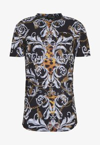 Supply & Demand - JUNGLE IN BAROQUE - T-shirt con stampa - black/gold - 4