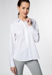 Eterna - Button-down blouse - white - 0