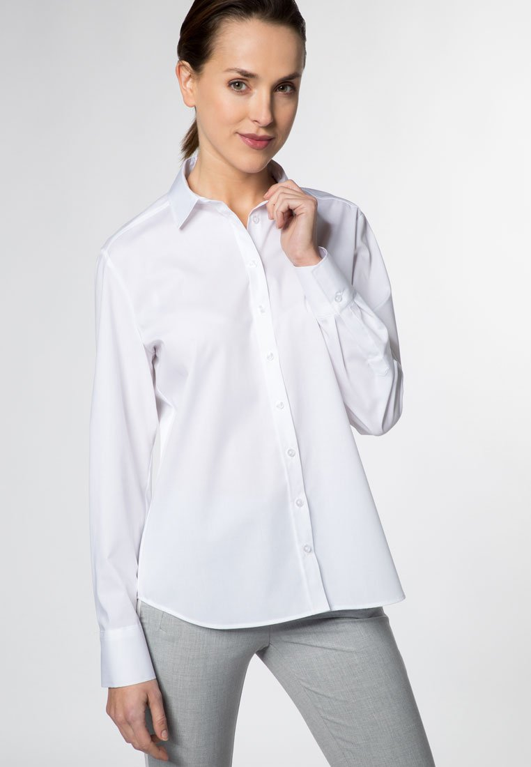 Eterna - Button-down blouse - white