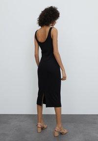 EDITED - Shift dress - schwarz - 2