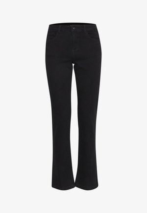 BYLOLA BYLUNI  - Bootcut jeans - black