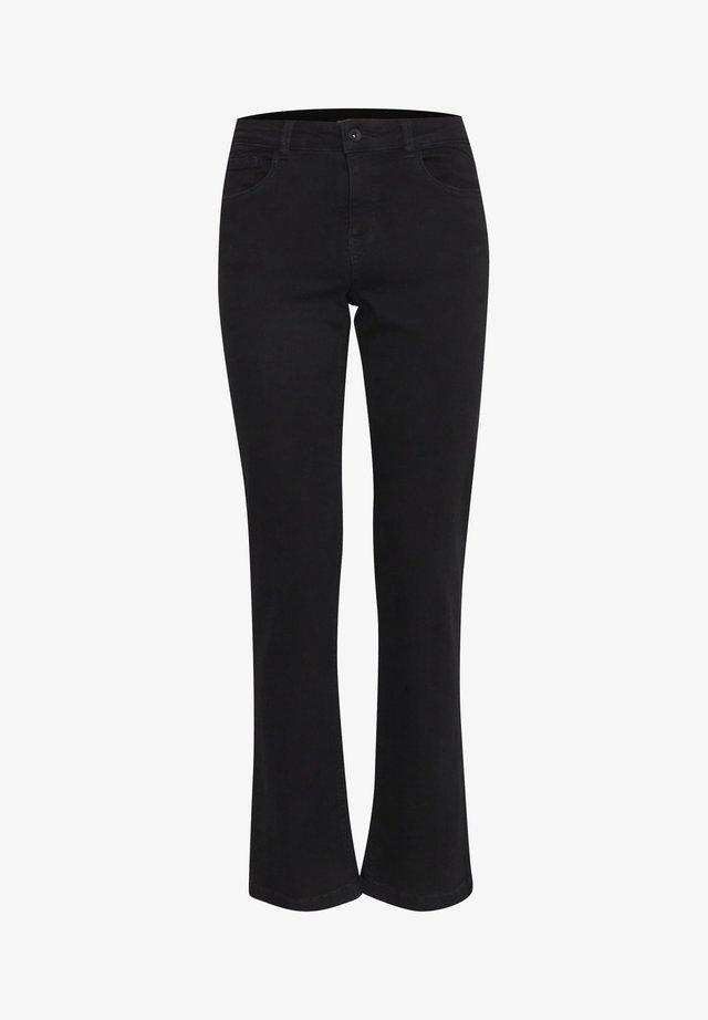 BYLOLA BYLUNI  - Jeans bootcut - black
