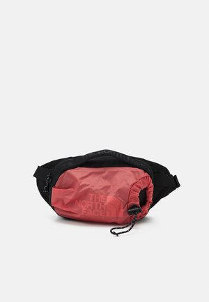 BOZER HIP PACK UNISEX - Bum bag - faded rose/black