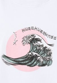 HUGO - THE GIRLFRIEND TEE - T-shirts print - white - 2